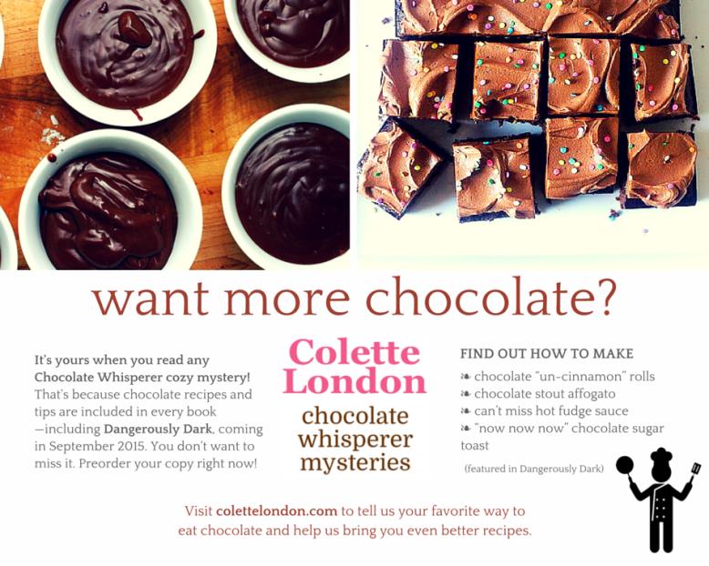 preorder Dangerously Dark (Chocolate Whisperer #2)